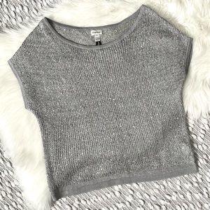 (🌸2/$25🌸) Grey sequin top